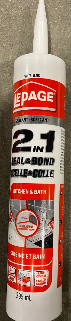 Lepage Seal And Bond Kitchen & Bath