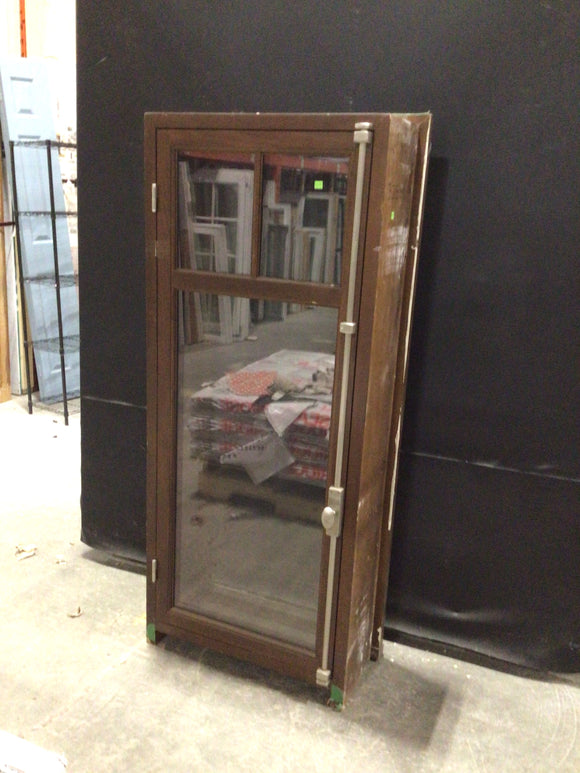 Solid Wood Casement Window with Screen (27.25x62x11)
