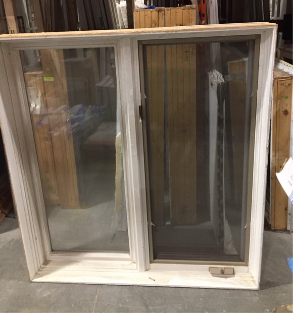 White Window with Screen - (48x52x8)