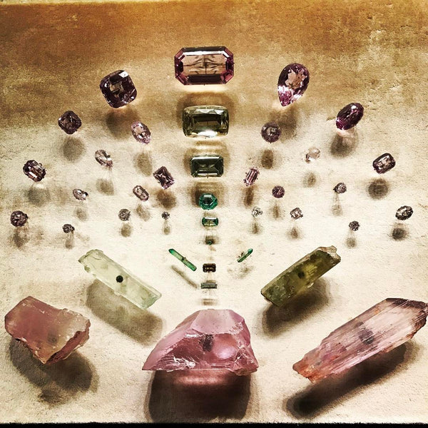 Gemstones on Display at the Metropolitan Museum of Art inspire Amy Delson Jewelry