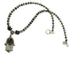 Hamsa Necklace by Amy Delson Jewelry