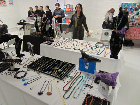 Amy Delson at Save A Child's Heart Shop Your Heart Out event