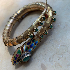 Vintage Snake Bracelet, Amy Delson Collection