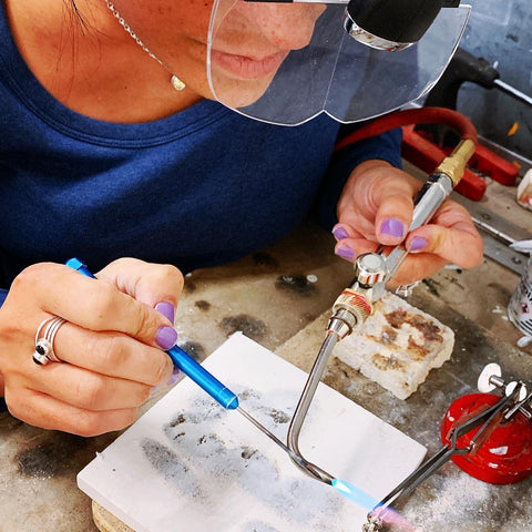 Amy Delson Soldering at 92Y
