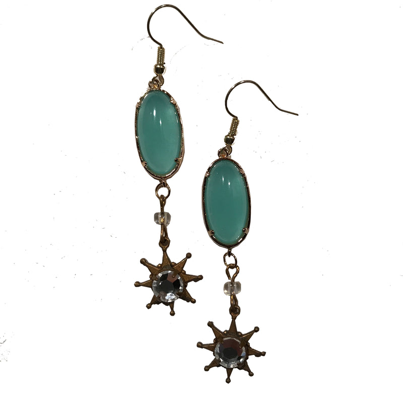 Star Earrings by Amy Delson Jewelry