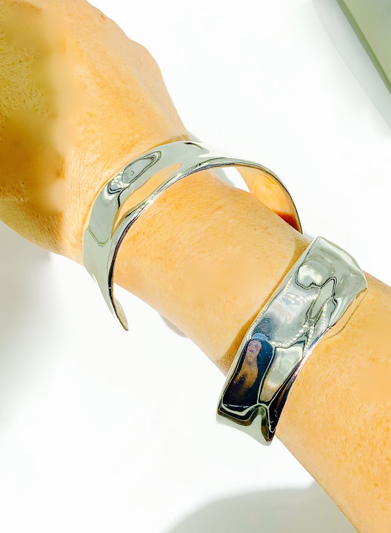 Sterling Silver plated Amy Delson Jewelry Frida Cuff
