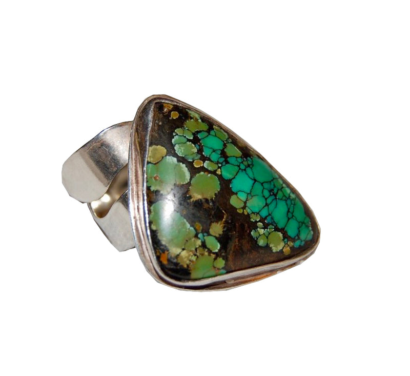 Amy Delson Jewelry turquoise sterling silver ring