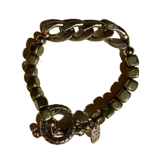 Amy Delson Jewelry pyrite bracelet