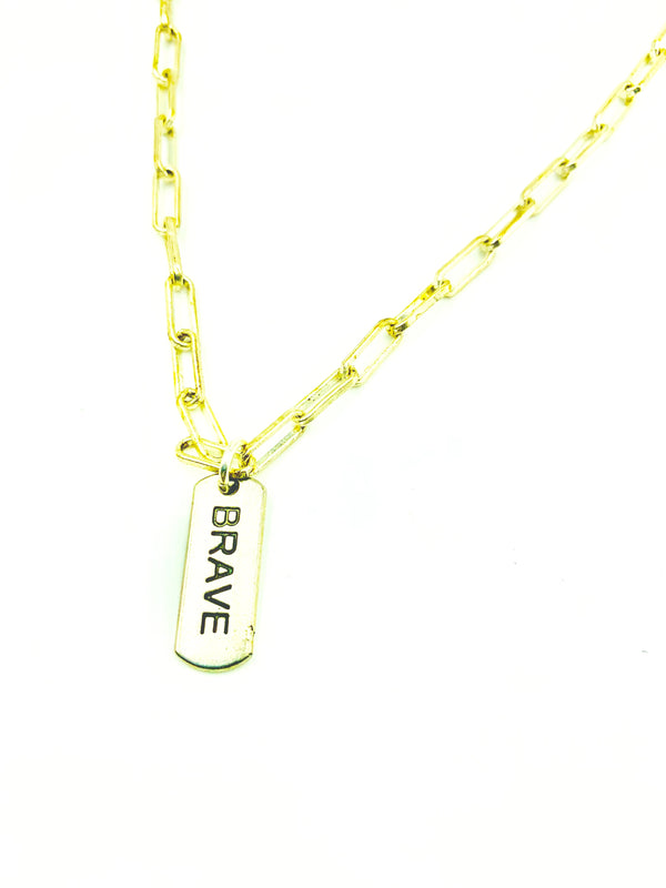 Amy Delson Jewelry BRAVE Necklace
