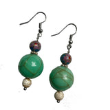 Amy Delson Jewelry Vintage bead earrings