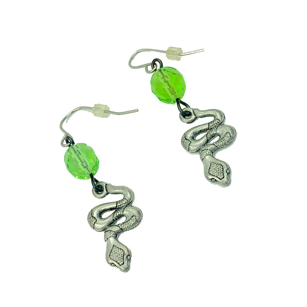 Amy Delson Jewelry Snake Earrings