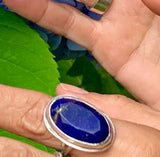 A Delson Jewelry Lapis Lazuli ring