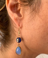 Amy Delson Jewelry Evil Eye Earrings
