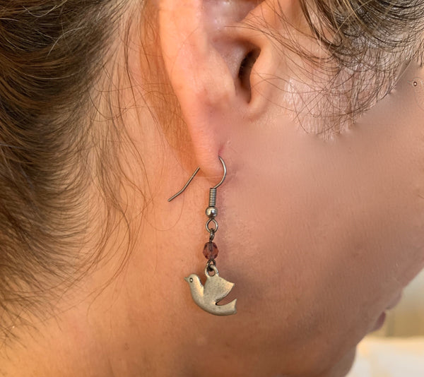 Delson Jewelry Dove Earring