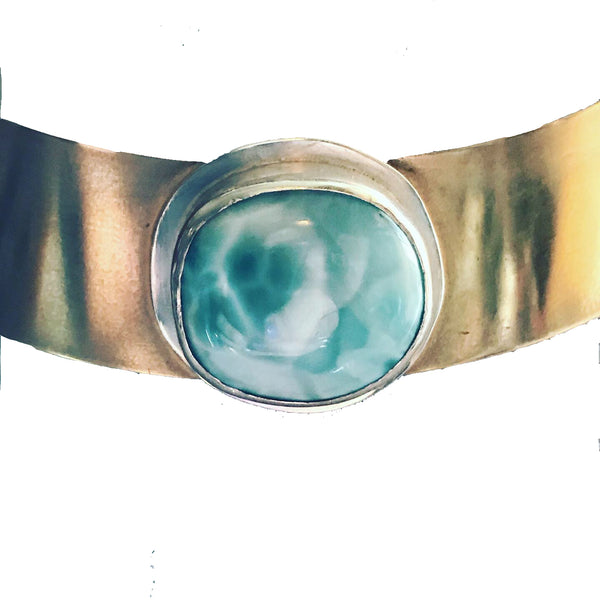 Amy Delson Jewelry larimar collar