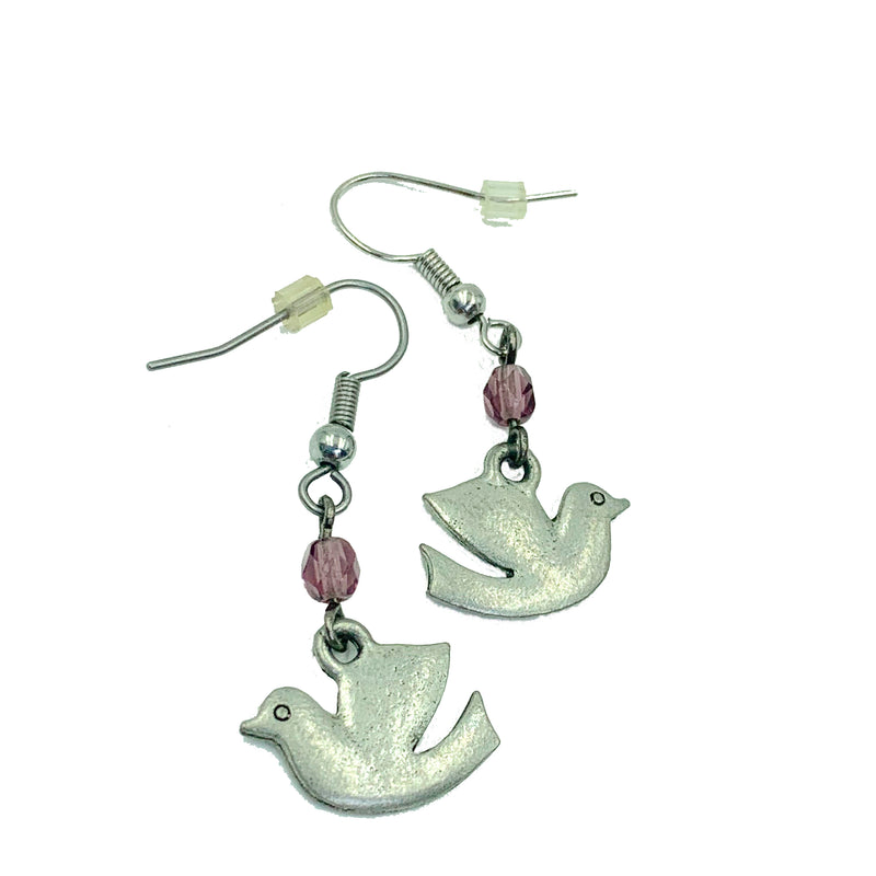 Dove earrings by Amy Delson Jewelry