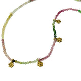 Amy Delson Jewelry Ombre Tourmaline Daisy Necklace