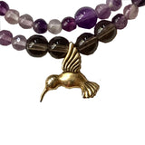 Amy Delson Jewelry  hummingbird bracelet