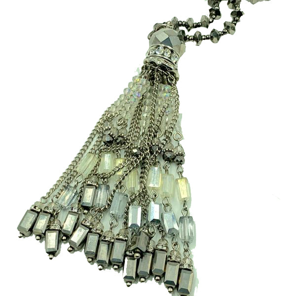 Amy Delson Jewelry Vintage Tassel Necklace