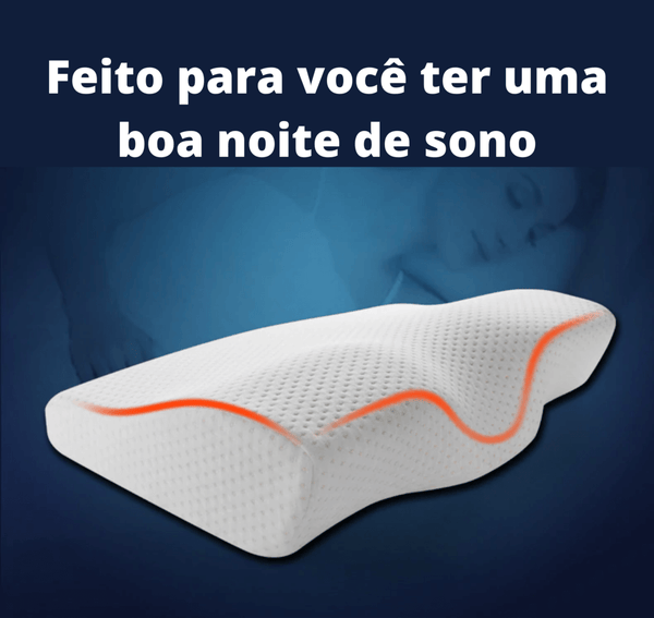 travesseiro ortopédico cervical sleep well