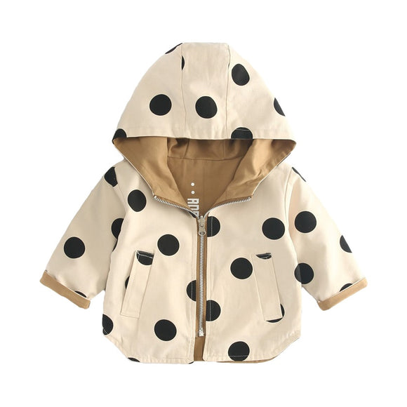 Fall Outerwear Trench Coat - BabyBloomPlace