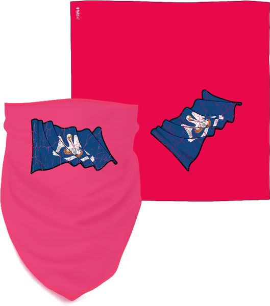 Louisiana Flag 2.1 Bandana