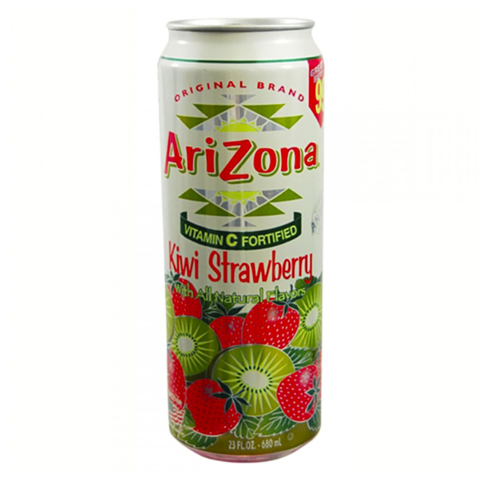 BEBIDA ARIZONA KIWI CON FRESA LATA 680MLS. 680  ML.