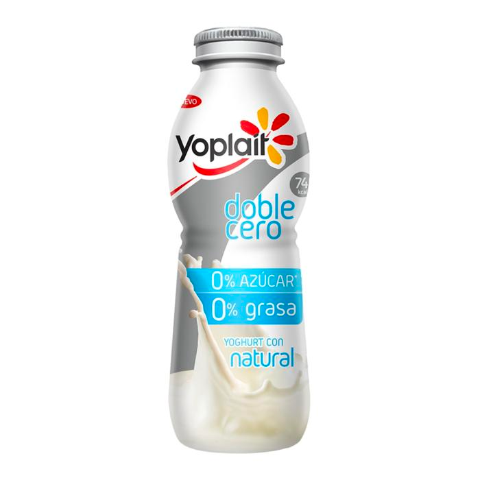 YOGHURT PARA BEBER LIGHT NATURAL YOPLAIT DE 220GRS 220  GR.