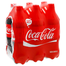 REFRESCO COCA COLA 6PACK  DE 600 MLS. 6  PZA.