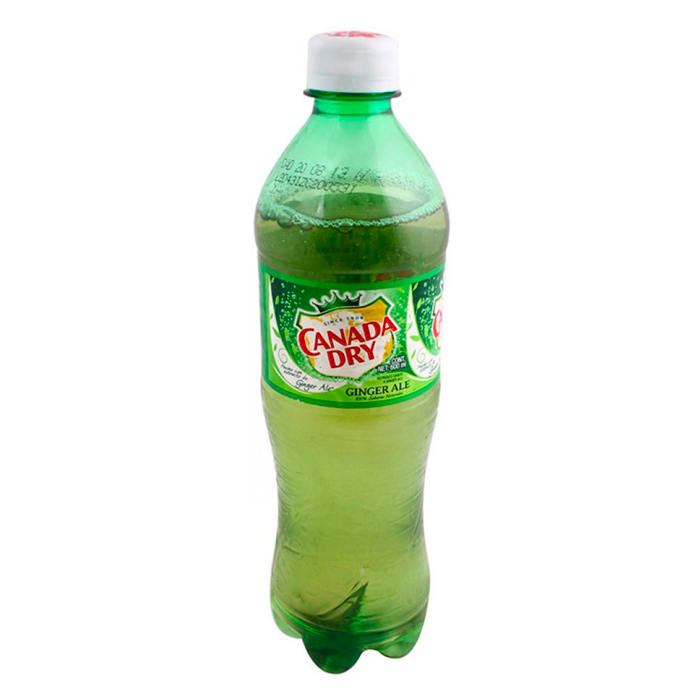 REF.CANADA DRY GINGER ALE PET DE 600 ML. 600  ML.
