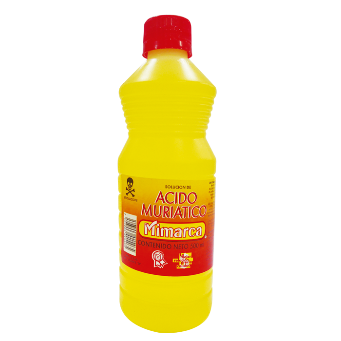 ACIDO MURIATICO MIMARCA BOTELLA 500ML. 500  ML.
