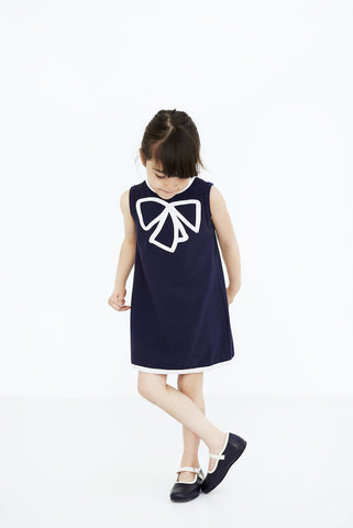 Blue dress sleeveless