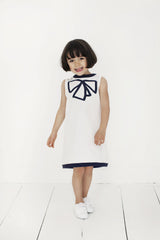 girls dress what sleeveless organic cotton