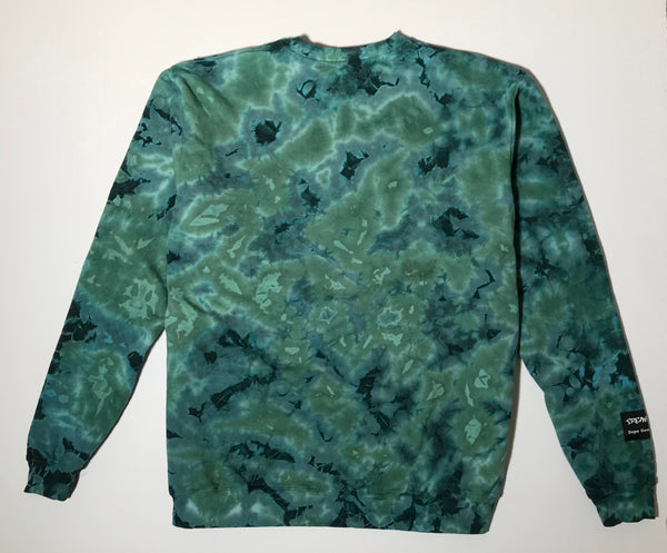 Crewneck - Phil Brown - Green Monochrome