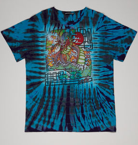 T-Shirt - Water Dragon/Freaktopia - L