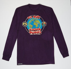 Longsleeve - Purple Batik - Do The Right Thing