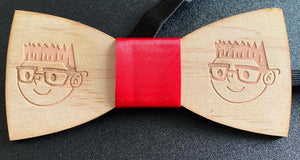 Daniel Knight Wooden Bow Tie