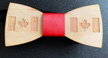 Load image into Gallery viewer, Custom Wooden Bow Tie