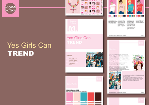 TREND Publication Volume 3: Yes Girls Can