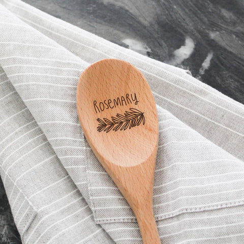 Beechwood Serving Spoon- Rosemary