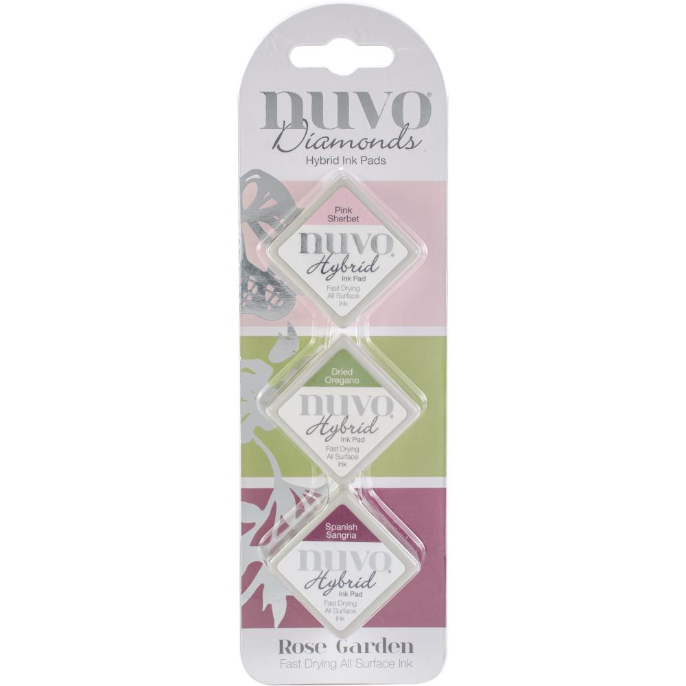 Nuvo Diamond Hybrid Ink Pads - Rose Garden - Lavinia World