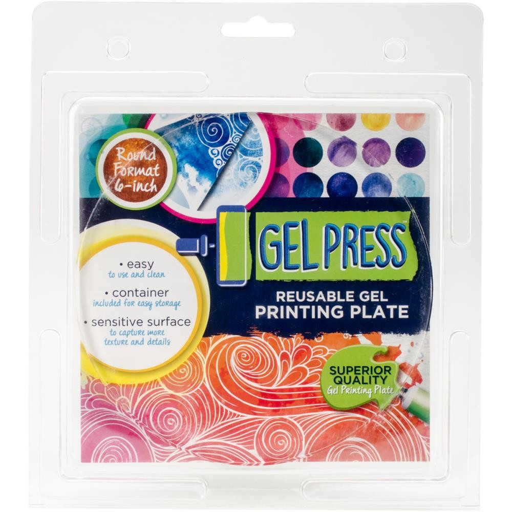 "Gel Press Circle 6"" - Lavinia World"