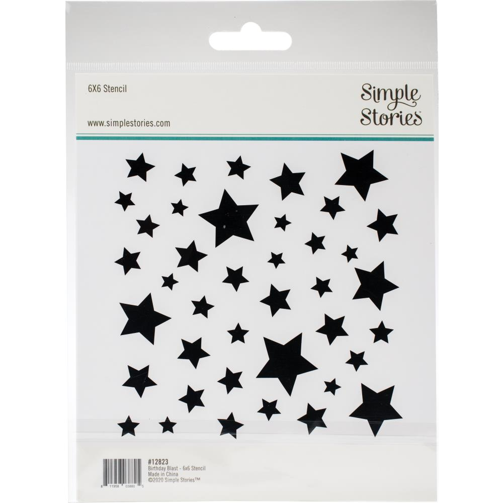 Simple Stories - Stencil - Stars - Lavinia World