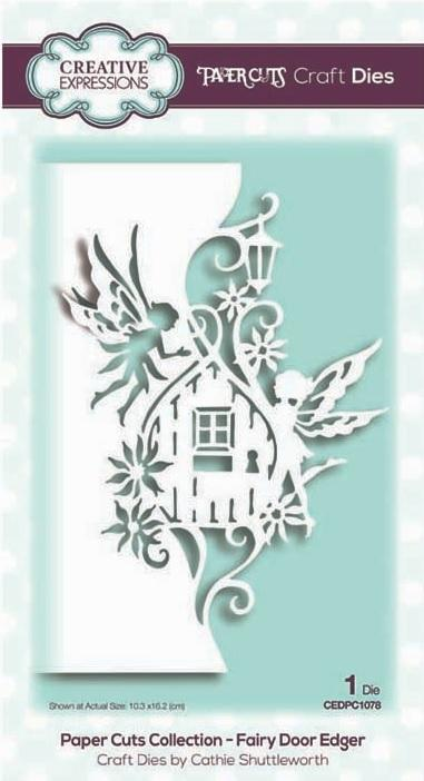 Creative Expressions - Paper Cuts Collection - Fairy Door Edger - Lavinia World