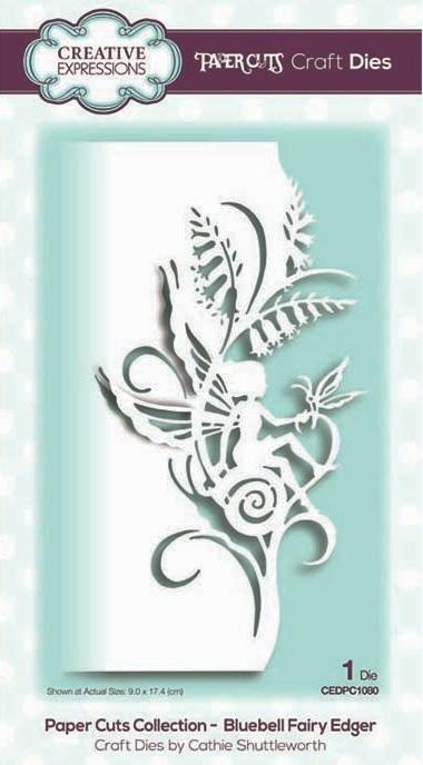 Creative Expressions - Paper Cuts Collection - Bluebell Fairy Edger - Lavinia World