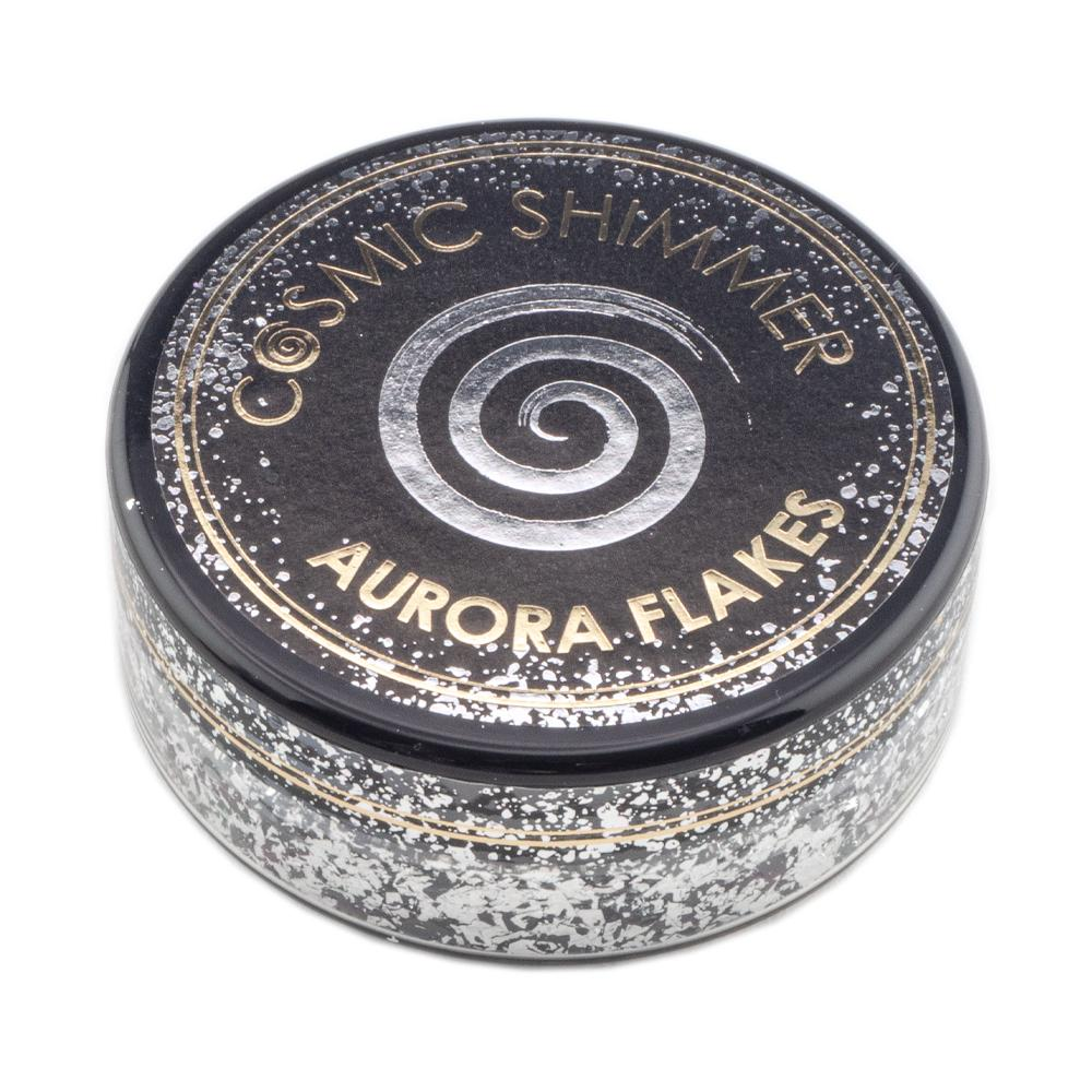 Cosmic Shimmer Aurora Flakes 50ml - Black Diamond - Lavinia World
