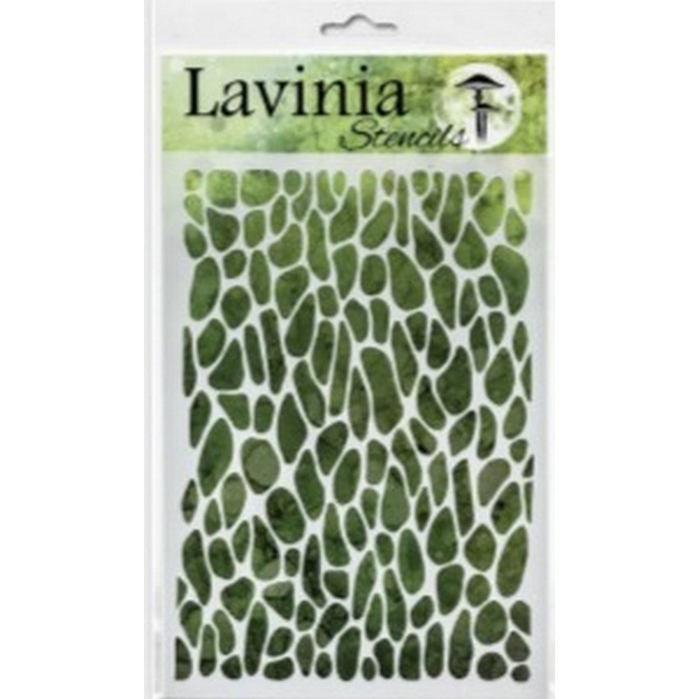 * Pre-Order * Stencil - Crackle (ships End Of August) - Lavinia World