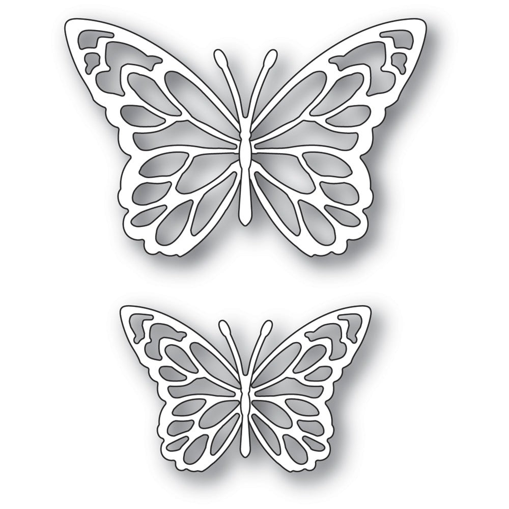 Memory Box - Dies - Gloriosa Butterfly Duo Outlines - Lavinia World