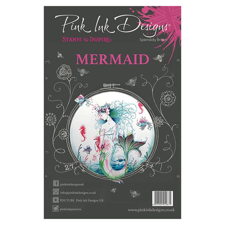 Pink Ink Designs - Stamps - Mermaid - Lavinia World
