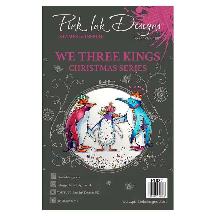 Pink Ink Designs - Stamps - We Three Kings - Lavinia World